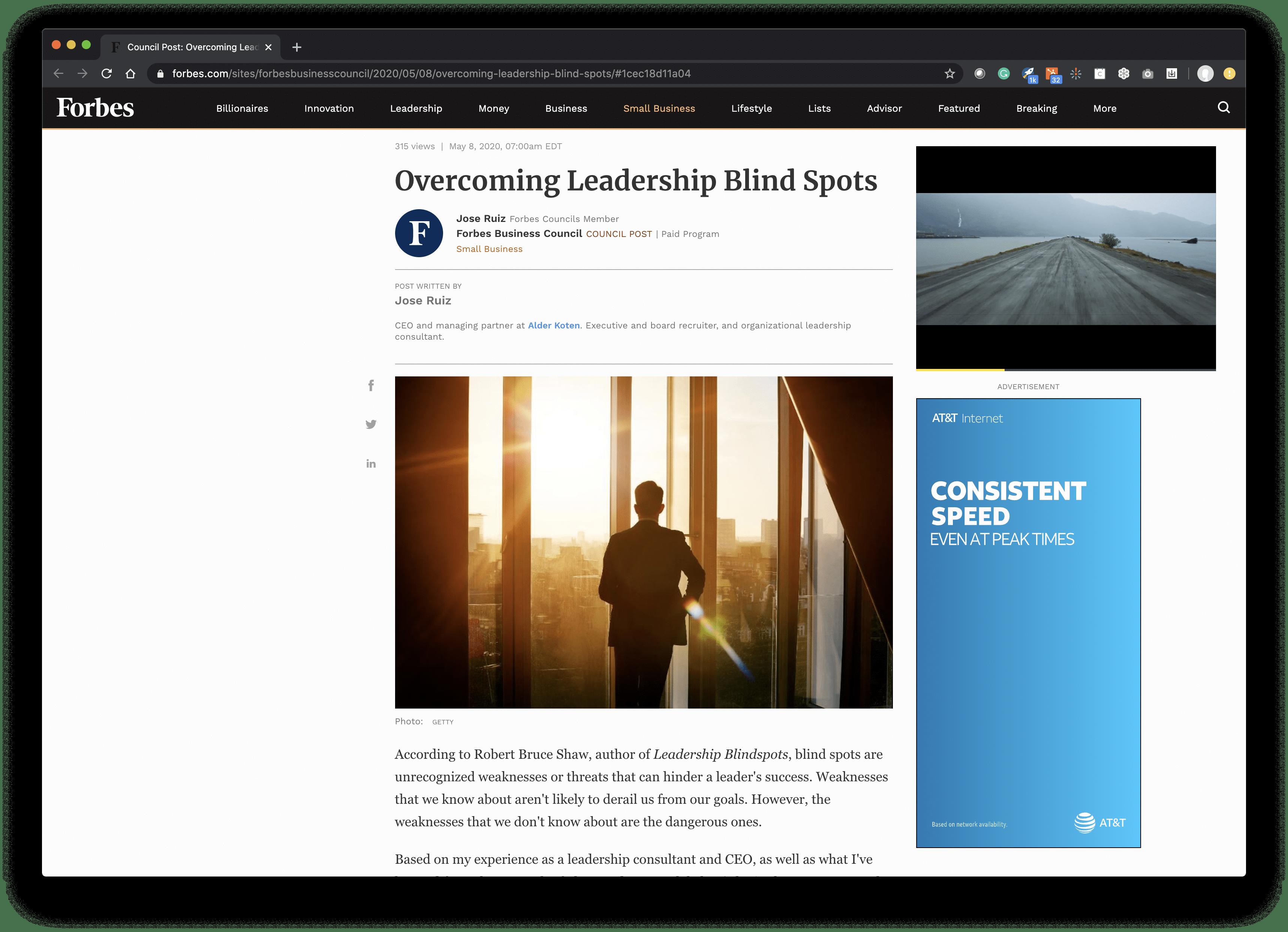 Overcoming Leadership Blind Spots
